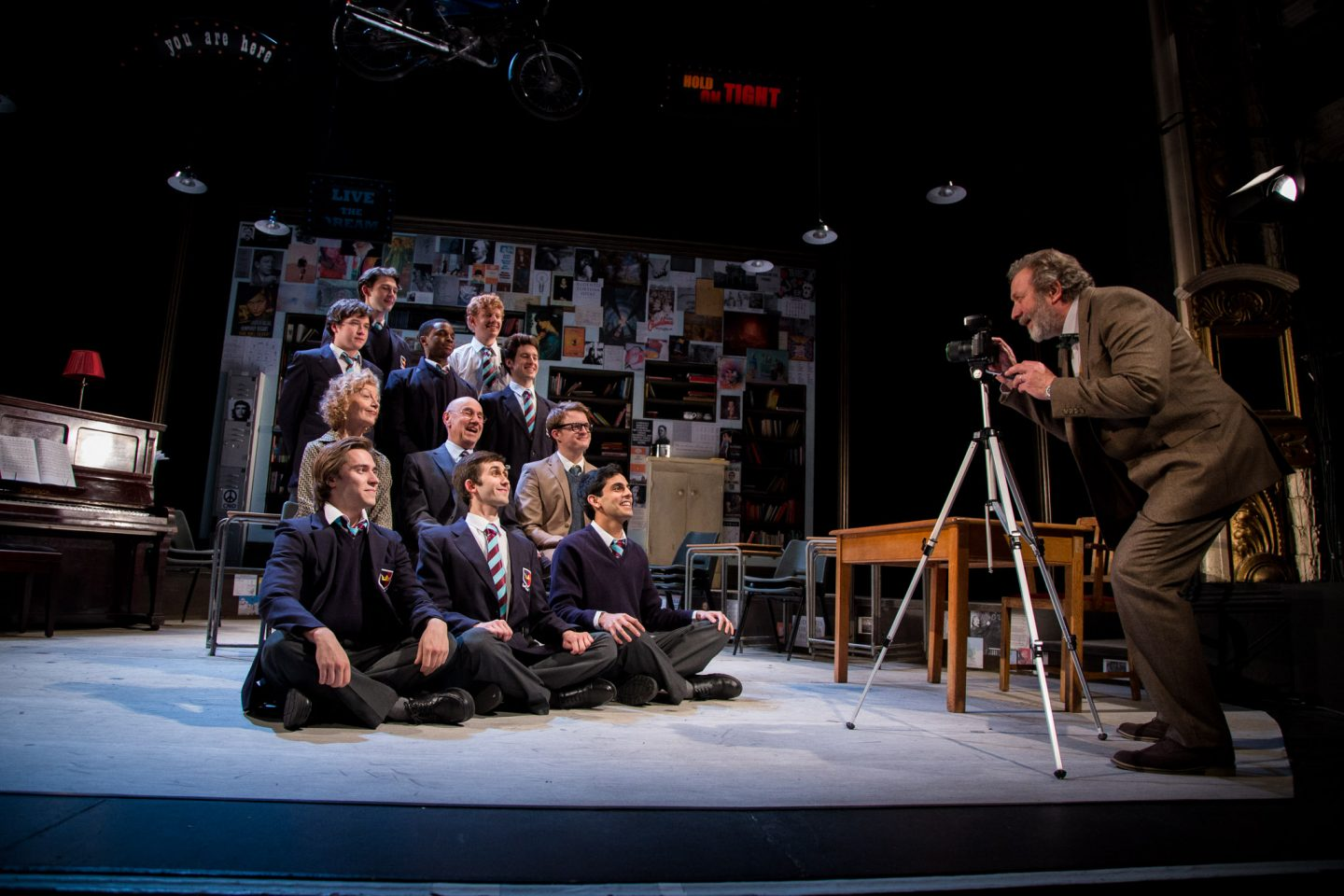 History Boys at the Churchill Theatre