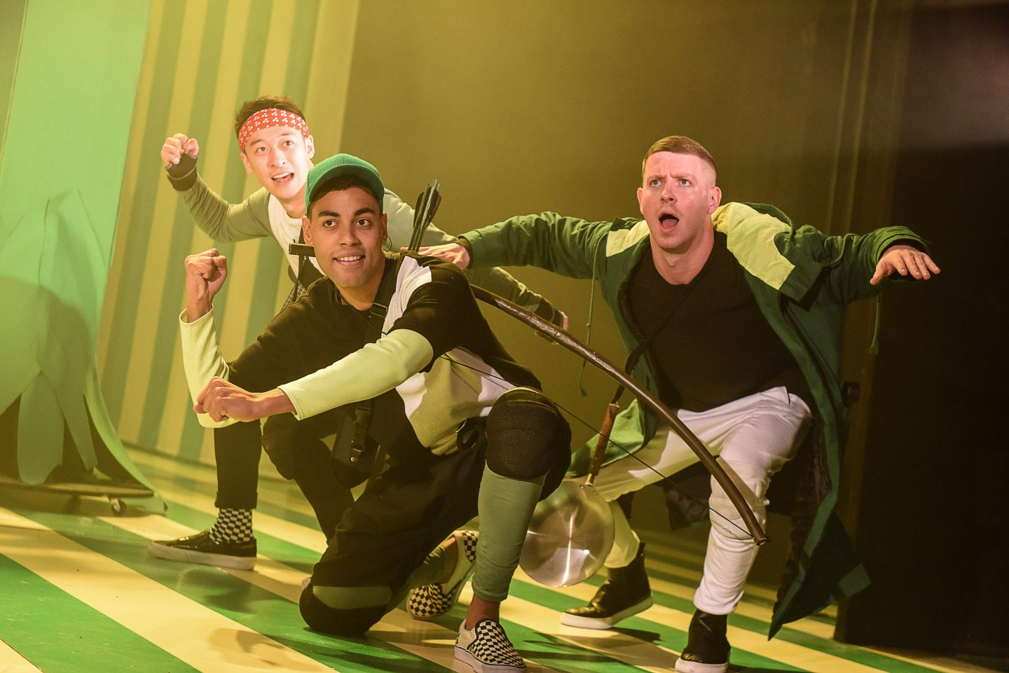 Panto Season 2015: Robin Hood at the Theatre Royal Stratford East