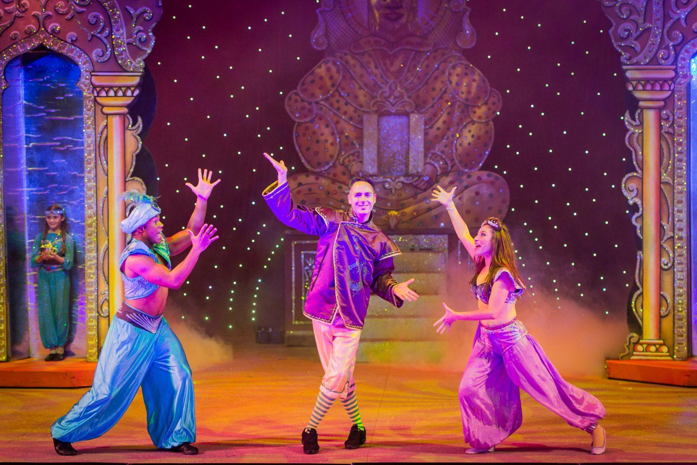 Panto Season 2015: Aladdin at the Churchill Theatre