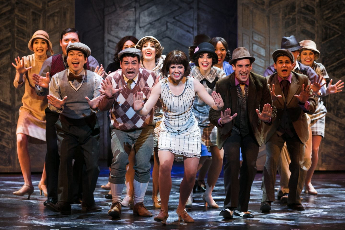 Thoroughly Modern Millie UK tour at The Churchill Theatre, Bromley