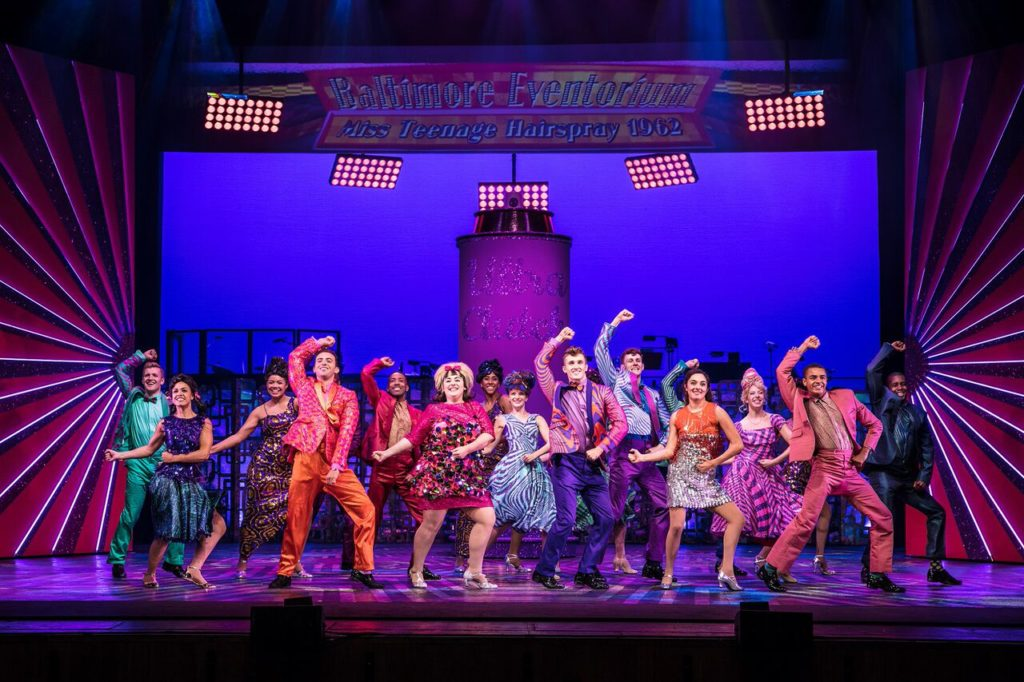 Hairspray UK Tour at the Orchard Theatre, Dartford
