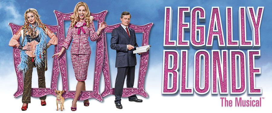Legally Blonde UK tour at the Churchill Theatre