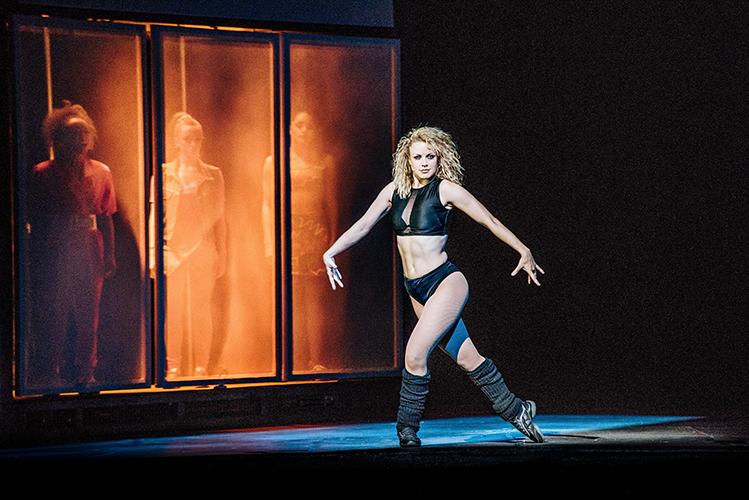 Flashdance UK tour starring Joanne Clifton