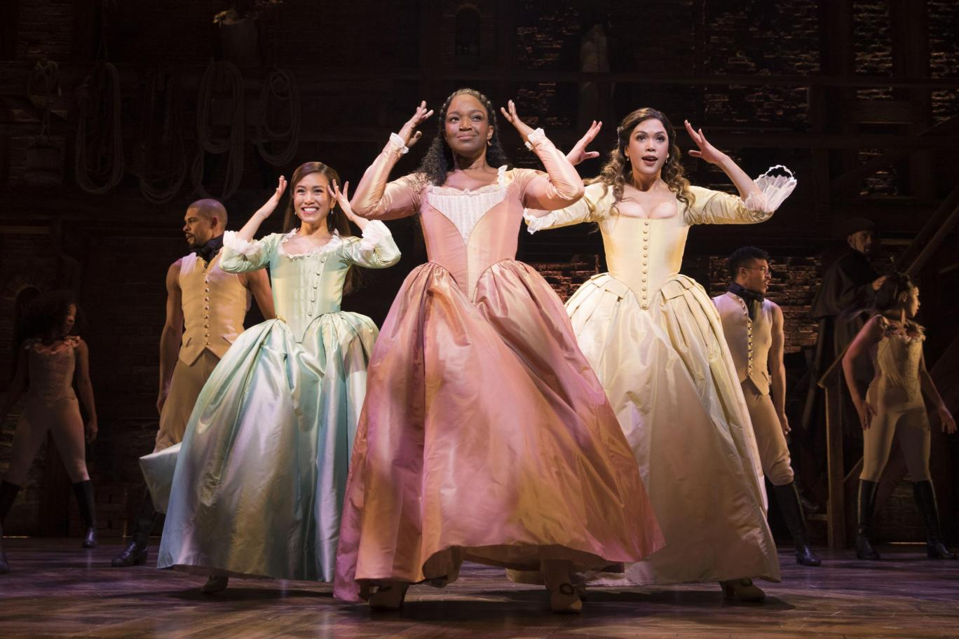 How to get Hamilton tickets - The Schuyler Sisters