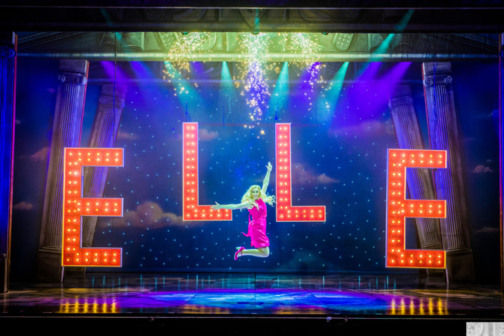 Legally Blonde UK tour at the New Wimbledon Theatre