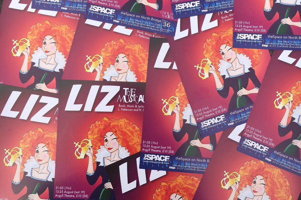 Liz the Musical at the Edinburgh Fringe