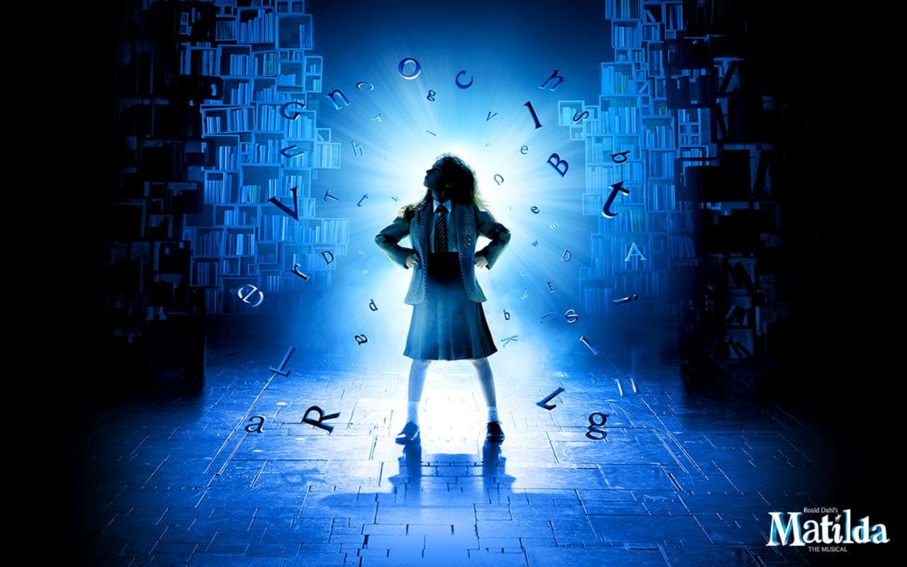 #BeMoreMatilda with Matilda the Musical