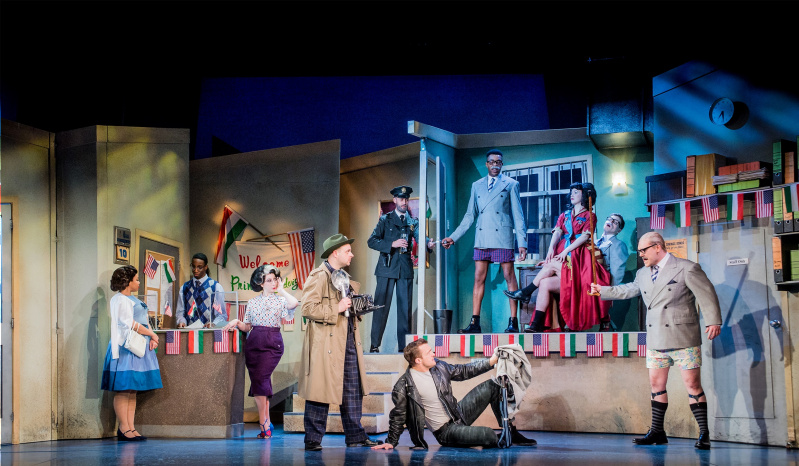 The Comedy About a Bank Robbery, Criterion Theatre